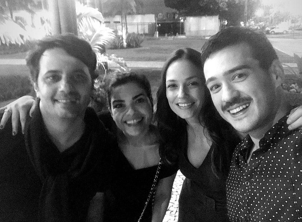 Giuseppe Dioguardi, Vanessa Giacomo, Rosane Mulholland e Marcos Veras