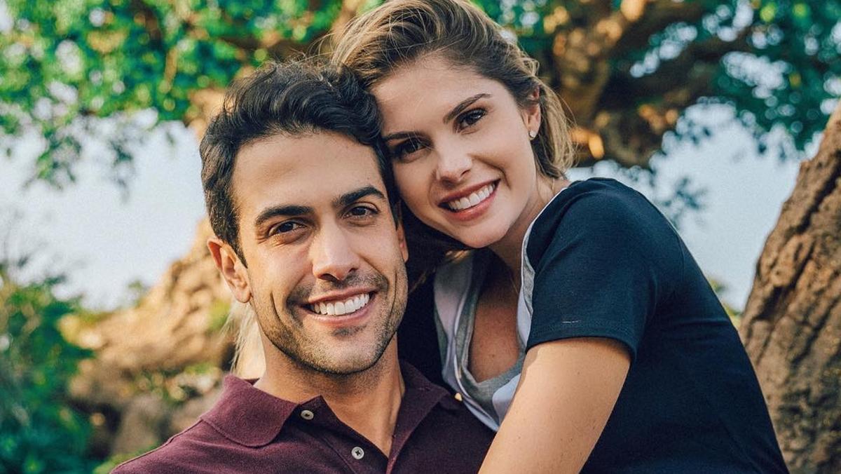 Gustavo Theodoro e Barbara Evans